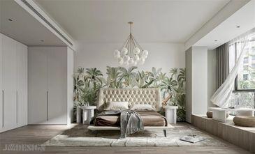 60平米一室一厅田园风格卧室装修案例