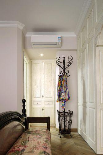 100平米三室两厅田园风格衣帽间图