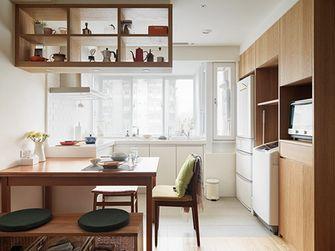 80平米日式风格厨房欣赏图