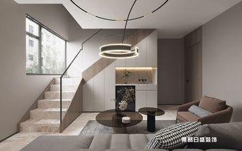 140平米四室三厅现代简约风格楼梯间装修图片大全