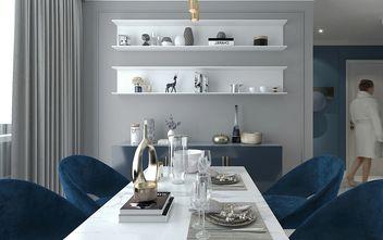110平米三室一厅混搭风格餐厅图片大全