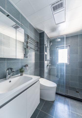120平米三室两厅美式风格卫生间图片