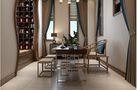 140平米四室两厅田园风格餐厅装修案例