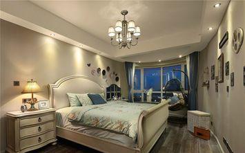 140平米三室三厅美式风格卧室图片