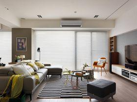 80平米三室一厅北欧风格客厅图片
