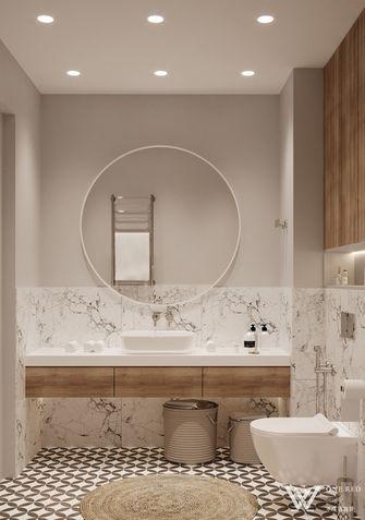 70平米公寓现代简约风格梳妆台欣赏图