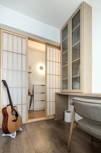 80平米三室两厅日式风格玄关装修效果图