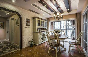 130平米四室两厅美式风格餐厅图片大全