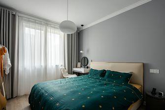 70平米北欧风格卧室效果图