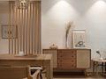 140平米四日式风格餐厅装修案例