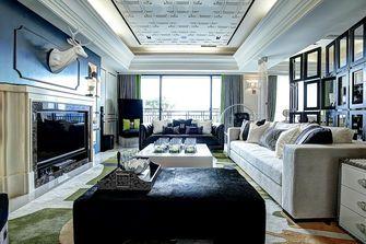 140平米三室一厅新古典风格客厅图片