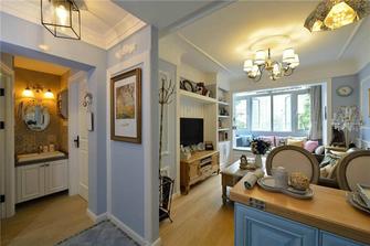 60平米公寓地中海风格客厅设计图