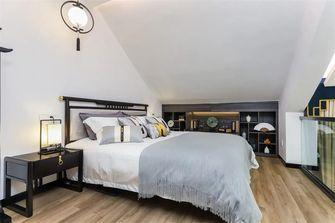50平米复式中式风格卧室效果图
