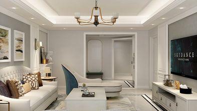 140平米三室一厅北欧风格客厅设计图