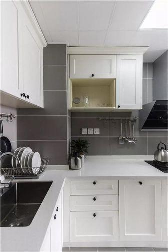 90平米三美式风格厨房图