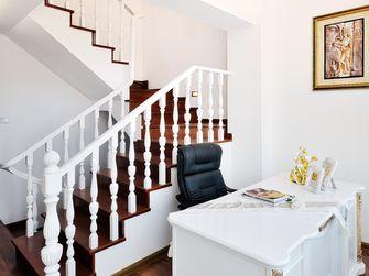 富裕型130平米别墅欧式风格楼梯装修图片大全