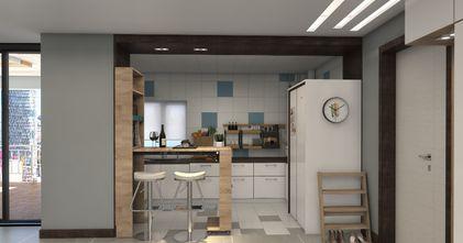80平米公寓现代简约风格厨房装修案例