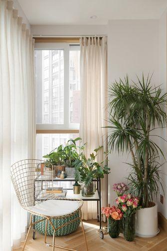 100平米三室两厅东南亚风格阳台图片