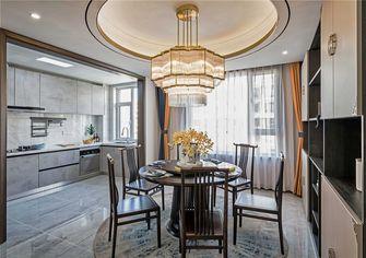 120平米三室两厅中式风格餐厅装修效果图