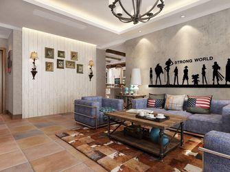 100平米三田园风格客厅设计图