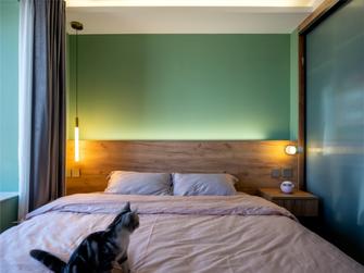 60平米一室一厅现代简约风格卧室图