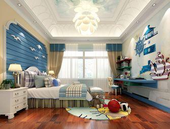 富裕型140平米四室三厅地中海风格卧室设计图