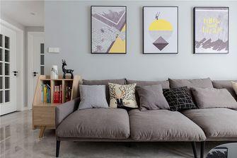 100平米三室两厅欧式风格客厅装修图片大全