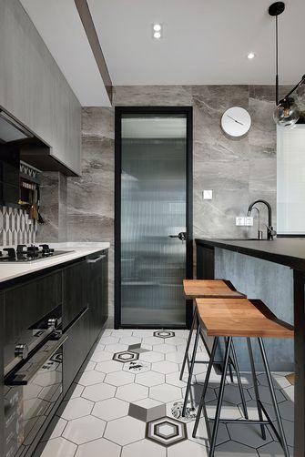 80平米混搭风格厨房效果图