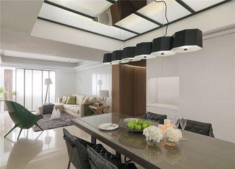 130平米四室两厅北欧风格餐厅图片大全