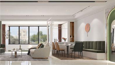 140平米三室一厅美式风格餐厅图片大全