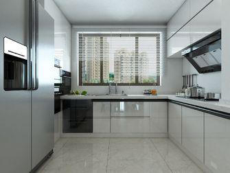 140平米四室两厅混搭风格厨房图