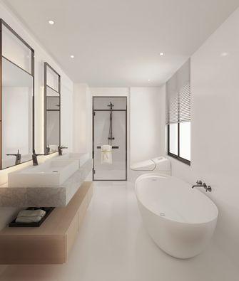 140平米四室两厅日式风格卫生间欣赏图