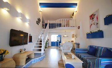 10-15万110平米复式地中海风格阁楼欣赏图