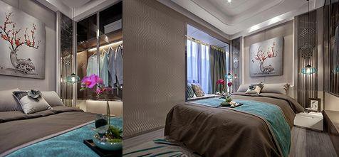 100平米一室一厅欧式风格卧室设计图
