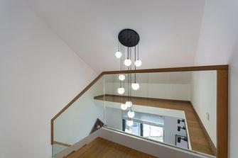 140平米三日式风格楼梯间装修图片大全