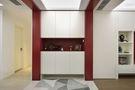 140平米三室两厅现代简约风格玄关设计图