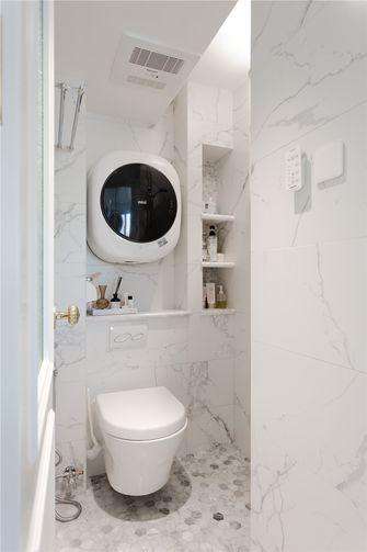 60平米一室一厅法式风格卫生间装修案例