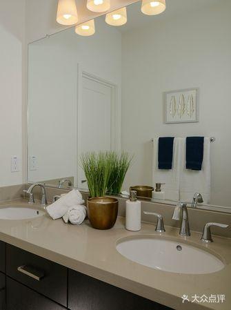 110平米三室两厅美式风格卫生间设计图