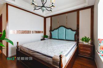 130平米四室两厅新古典风格卧室图片大全
