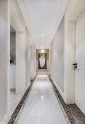 140平米三室两厅田园风格走廊图