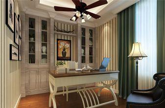 140平米四室两厅英伦风格书房欣赏图