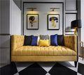 80平米公寓新古典风格客厅欣赏图