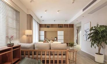 90平米三室两厅日式风格客厅装修图片大全