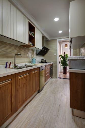 140平米三室一厅混搭风格厨房设计图