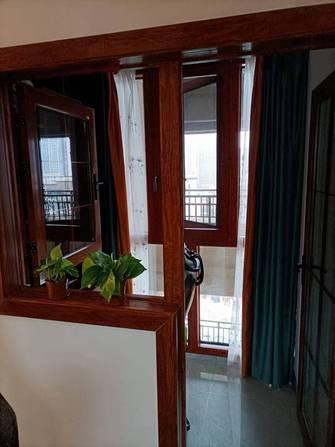 90平米三室两厅中式风格走廊图片大全