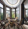 140平米三室一厅中式风格阳台设计图