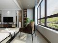 140平米四室两厅其他风格阳台图片
