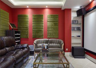 110平米三室两厅美式风格影音室欣赏图