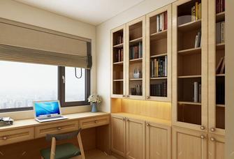 80平米北欧风格书房装修效果图
