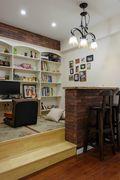 130平米三室一厅美式风格储藏室装修案例